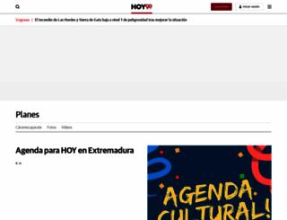 agenda.hoy.es screenshot