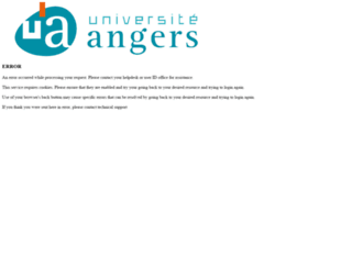 agenda.univ-angers.fr screenshot