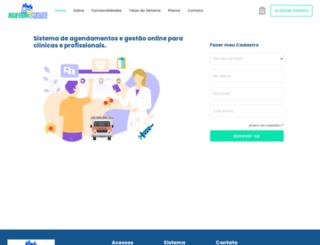 agendaprime.com.br screenshot