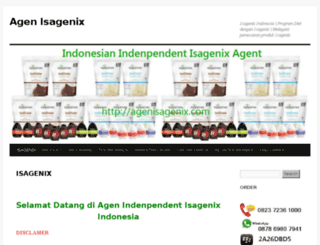 agenisagenix.com screenshot
