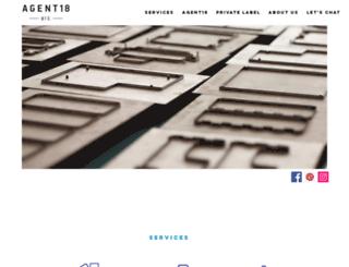 agent18.com screenshot
