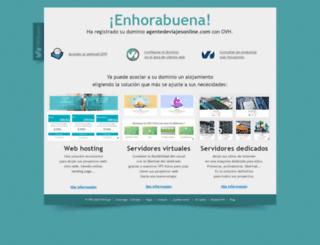 agentedeviajesonline.com screenshot