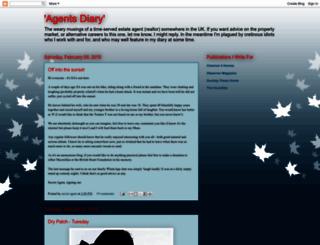 agentsdiary.blogspot.com screenshot