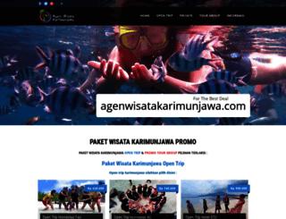 agenwisatakarimunjawa.com screenshot