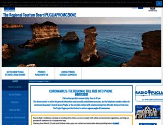 agenziapugliapromozione.it screenshot