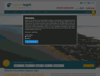 agenziateghil.it screenshot