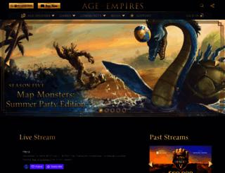 ageofempires.com screenshot