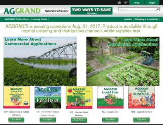 aggrand.com screenshot