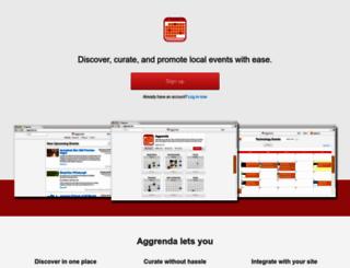 aggrenda.com screenshot