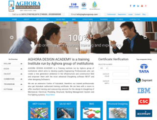 aghoragroup.com screenshot
