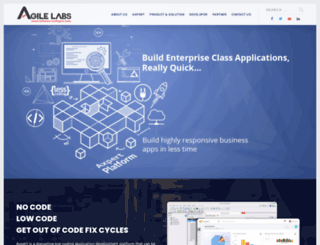 agile-labs.com screenshot