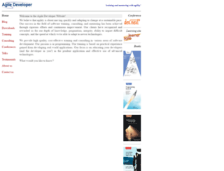 agiledeveloper.com screenshot
