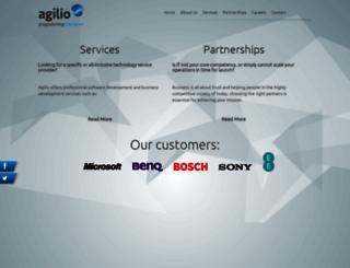 agilio.eu screenshot