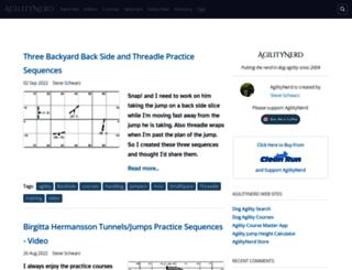 agilitynerd.com screenshot