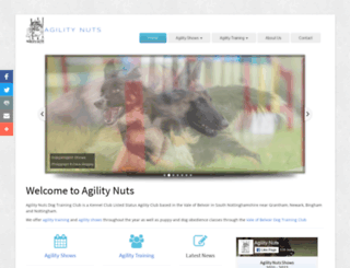 agilitynuts.co.uk screenshot
