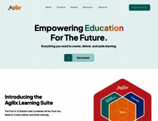 agilix.com screenshot