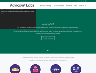agincourttech.com screenshot