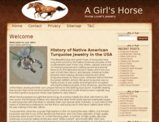 agirlshorse.com screenshot