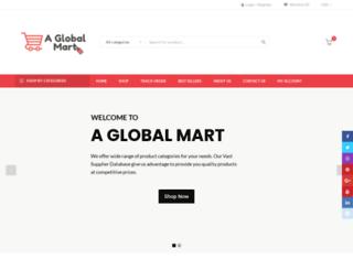 aglobalmart.com screenshot