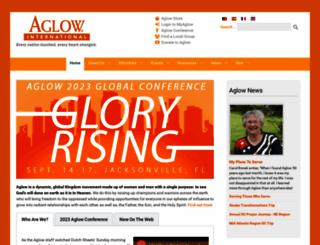 aglow.org screenshot