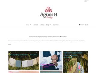 agneshdesign.com screenshot