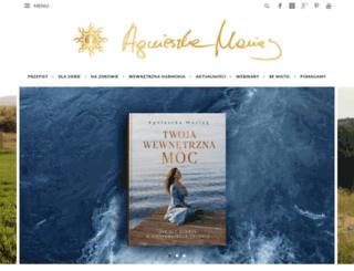 agnieszkamaciag.pl screenshot