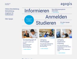 agogis.ch screenshot
