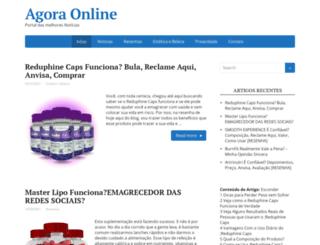 agora-online.com.br screenshot