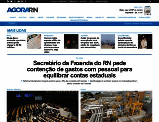 agorarn.com.br screenshot