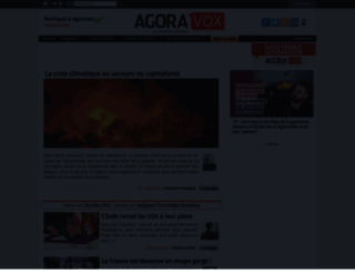 agoravox.fr screenshot