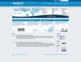 agosys.com screenshot