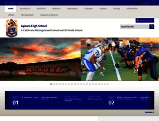 agourahighschool.net screenshot