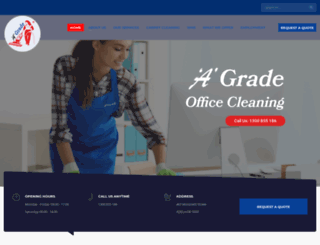 agradeofficecleaning.com.au screenshot