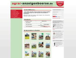 agrar-anzeigenboerse.de screenshot