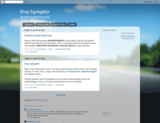 agregatorekspresi.blogspot.com screenshot