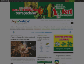 agricolturaonweb.it screenshot