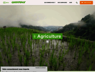 agriculture.greenpeace.fr screenshot