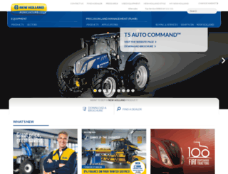 agriculture1.newholland.com screenshot