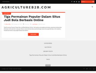 agricultureb2b.com screenshot