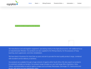 agriplas.co.za screenshot