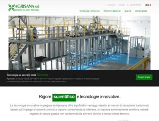 agrisana.it screenshot