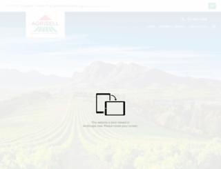 agrisell.co.za screenshot