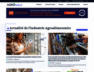 agro-media.fr screenshot