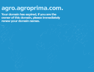 agro.agroprima.com screenshot