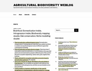 agro.biodiver.se screenshot