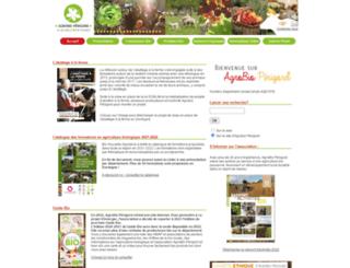 agrobioperigord.fr screenshot