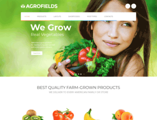 agrofields.cmsmasters.net screenshot