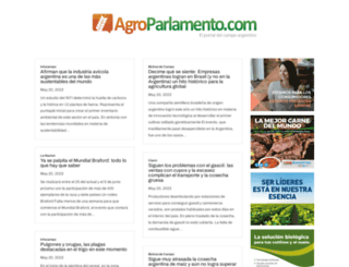 agroparlamento.com screenshot