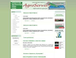 agroservis.rs screenshot