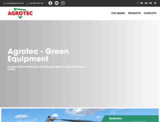 agrotec-it.com screenshot